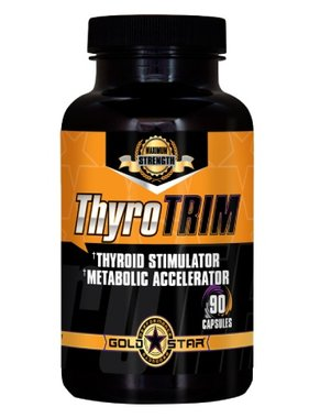 Gold Star Performance Products Thyro Trim, 90 Capsules