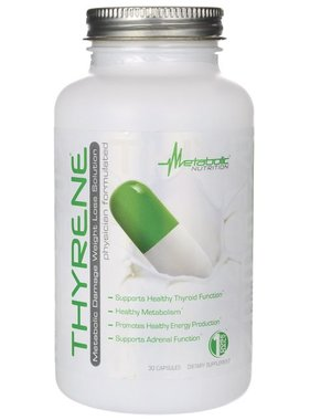 Metabolic Nutrition Thyrene, 30 Capsules