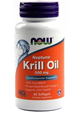 NOW Foods Neptune Krill Oil 500mg, 60 softgels