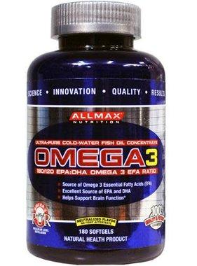 AllMax Nutrition Omega3, 180 gels