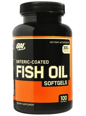 Optimum Nutrition Enteric Coated Fish Oil, 100 Softgels