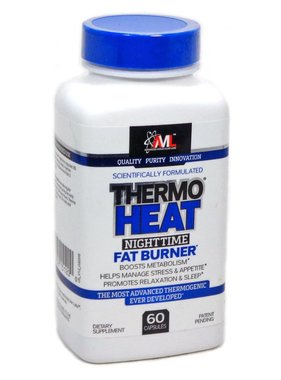 Advanced Molecular Labs Thermoheat Nighttime Fat Burner, 60 Capsules