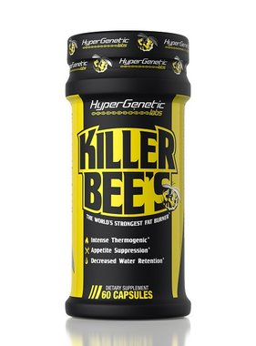 Hyper Genetic Labs Killer Bee's, 60 capsules