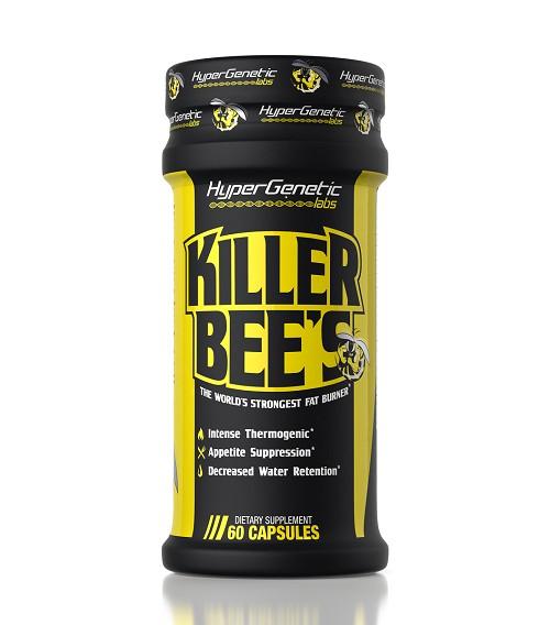 Hyper Genetic Labs Killer Bee's, 60 capsules