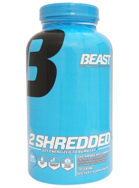 Beast Sports Nutrition 2Shredded, 120 Capsules