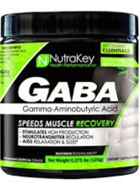 NutraKey GABA, 125 grams, 42 Servings