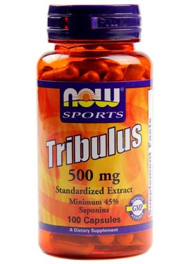 NOW Foods Tribulus 500 mg, 100 Capsules