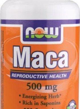 NOW Foods Maca 500 mg, 100 Capsules