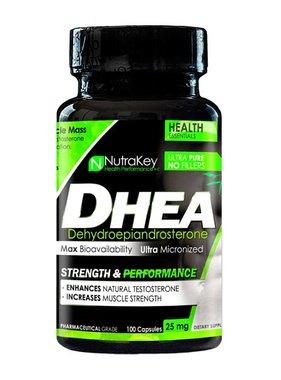 NutraKey DHEA 25 mg., 100 Capsules