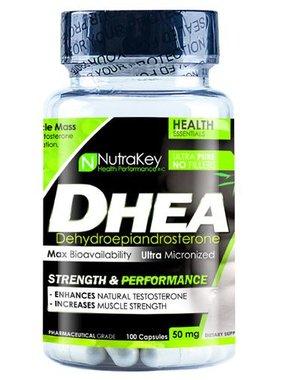 NutraKey DHEA 50 mg., 100 Capsules