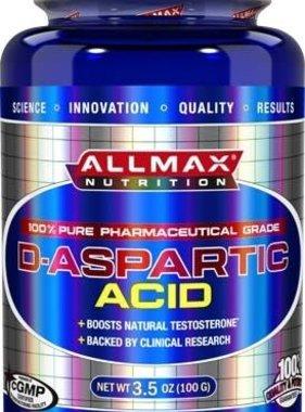 AllMax Nutrition D-Aspartic Acid, 100 grams, 32 Servings