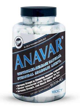Hi-Tech Pharmaceuticals Anavar, 180 tablets