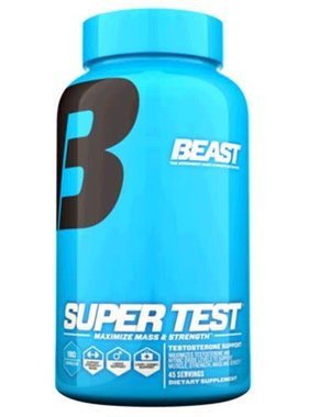 Beast Sports Nutrition Super Test, 180 Tablets