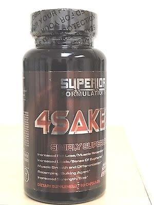 Superior Formulations 4Saken+, 90 Capsules