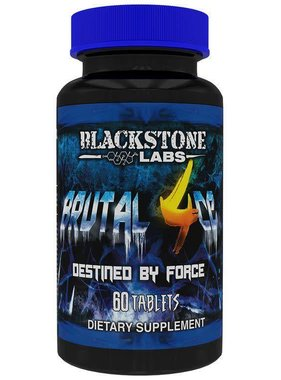 Blackstone Labs Brutal 4ce, 60 tablets