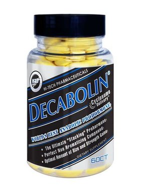 Hi-Tech Pharmaceuticals Decabolin, 60 Tablets