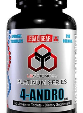 Legal Gear 4-Andro, 60 Tablets