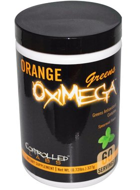 Controlled Labs Orange OxiMega Greens, Spearmint, 60 Servings