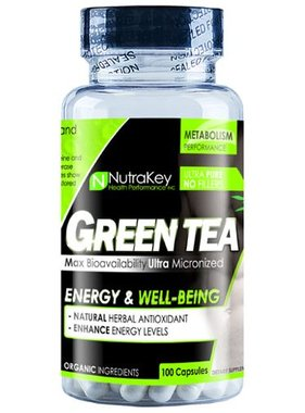 NutraKey Green Tea, 100 capsules