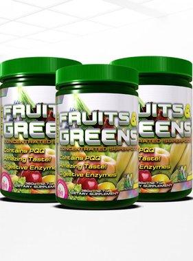 Duracap Super Fruits and Greens, Raspberry Lemonade, 30 servings