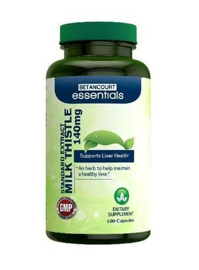 Betancourt Essentials Milk Thistle 140mg, 100 Capsules