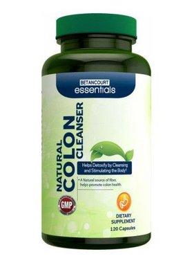 Betancourt Essentials Natural Colon Cleanser, 120 Capsules