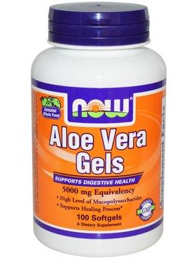 NOW Foods Aloe Vera Gels , 100 gels