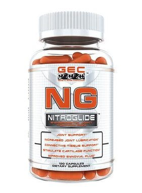 Genetic Edge Compounds NG Nitroglide, 120 capsules