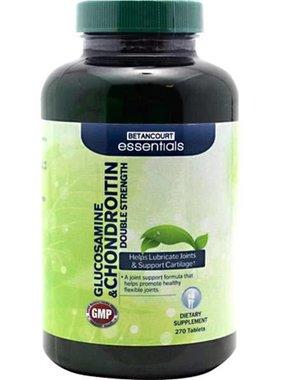 Betancourt Essentials Glucosamine & Chondroitin , 270 Tablets