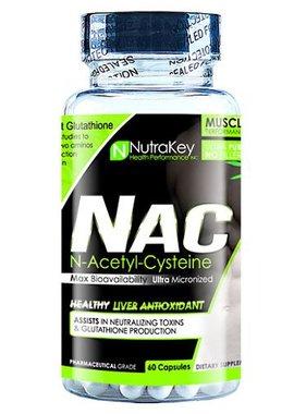 NutraKey NAC 600mg, 60 capsules