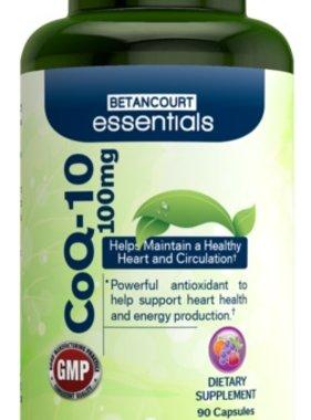 Betancourt Essentials CoQ10 100mg, 90 Capsules