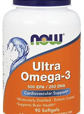 NOW Foods Ultra Omega-3 , 90 capsules