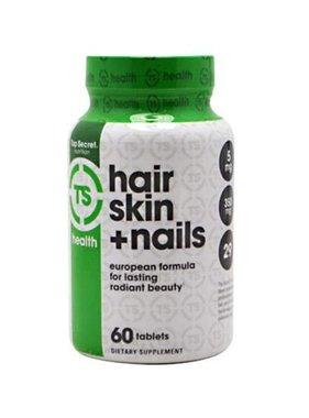 Top Secret Nutrition Hair, Skin & Nails, 60 Tablets