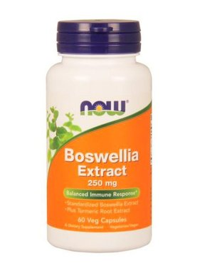 NOW Foods Boswellia Extract 250 mg, 60 Vcapsules