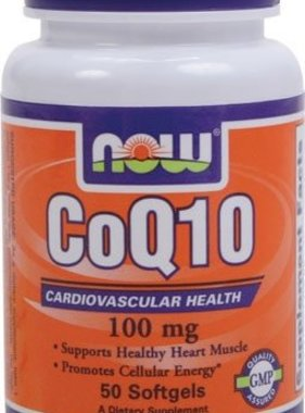 NOW Foods CoQ10 100 mg