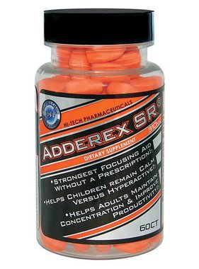 Hi-Tech Pharmaceuticals Adderex SR, 60 tablets