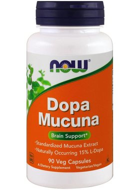 NOW Foods Dopa Mucuna, 90 VCapsules