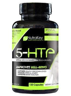 NutraKey 5-HTP, 120 Capsules