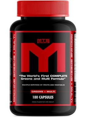 MTS Machine Greens & Multi, 180 capsules