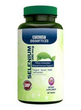 Betancourt Essentials Selenium 200mcg, 60 Tablets