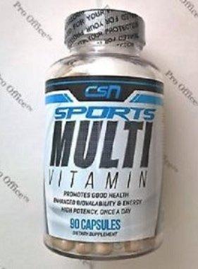 Carolina Sports Nutrition CSN Sports Multi-Vitamin, 90 Capsules