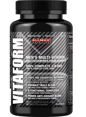AllMax Nutrition Vitaform , 60 tablets