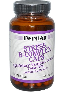TwinLab Stress B-Complex Caps