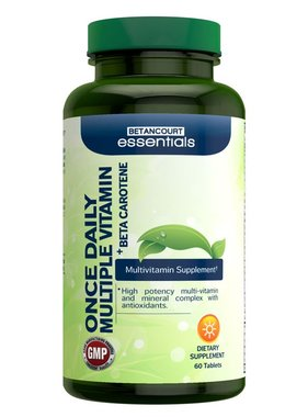 Betancourt Essentials Once Daily Multi Vitamin, 60 Tablets