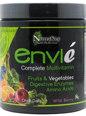 NutraKey Envie, Wild Berry, 30 Servings