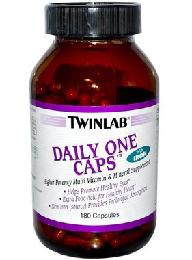 TwinLab Daily One with Iron