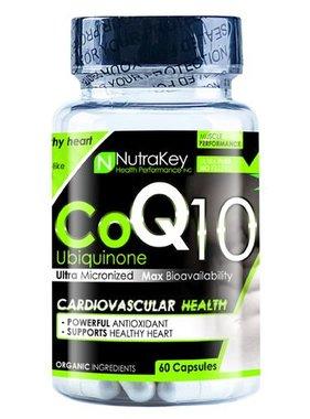 NutraKey CoQ10, 60 Capsules