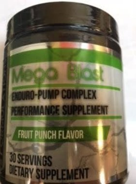 Rock Solid Formulations Mega-Blast, Fruit Punch, 30 Servings