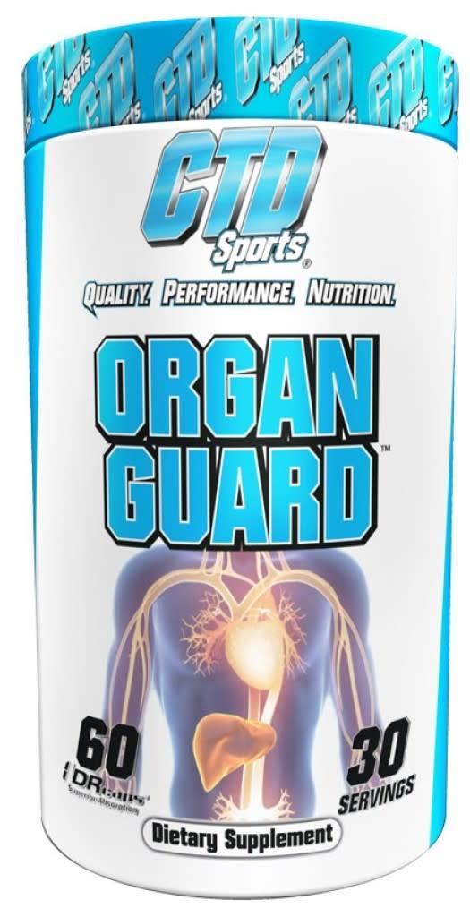 CTD Labs Organ Guard, 60capsule