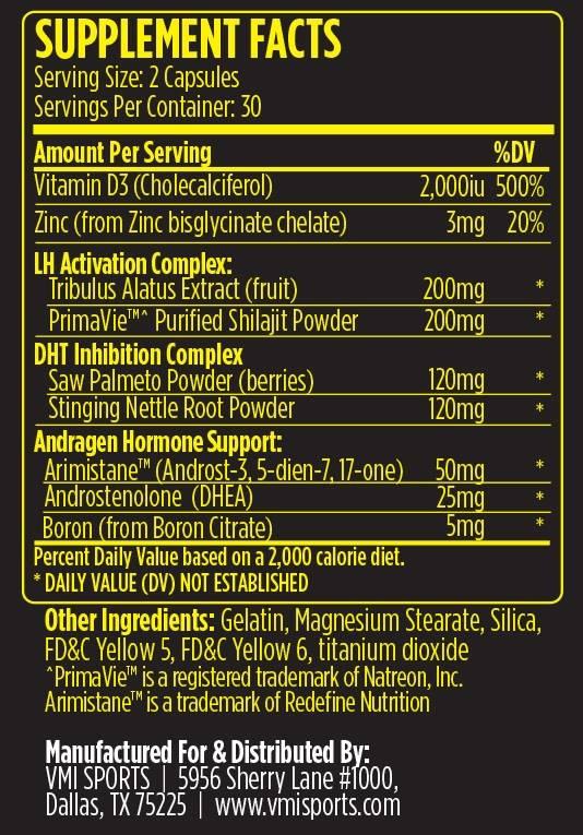 VMI A-XR PCT, 60 capsules